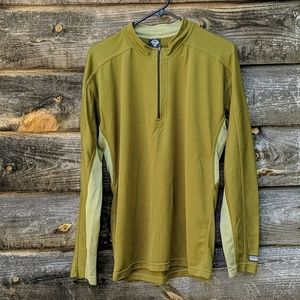 Prana Quarter Zip Lightweight Long Sleeve